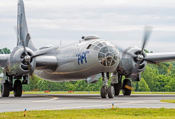 """B-29 """"FiFi"""" at Charlotte, NC, May 25-26, 2013"""