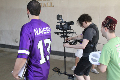 Lip Dub shoot with Steadicam Pilot