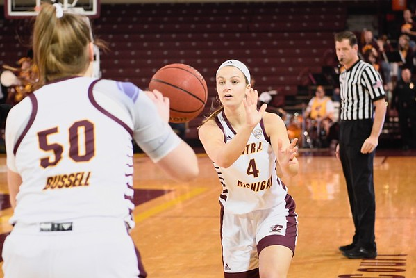 MS Central Michigan vs Northern Illinois Womens Basketball