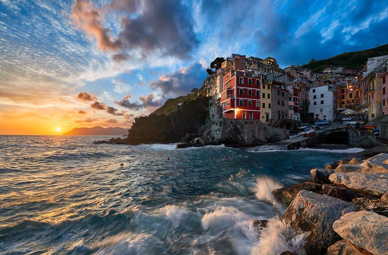 In Harmony With The Sea    Riomaggiore Italy