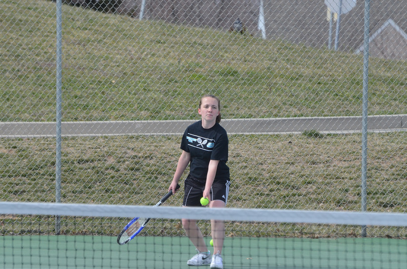 JV Tennis April 5 vs Bel Air