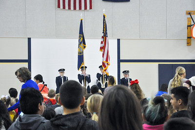 Veterans Day Assembly at Riley Elementary