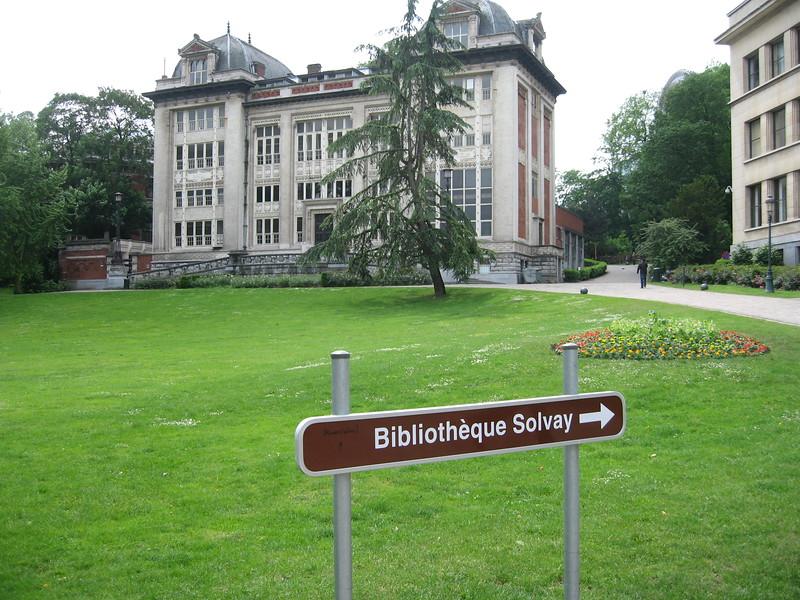 La Bibliothèque Solvay (Solvay Library), a restored academic and cultural venue