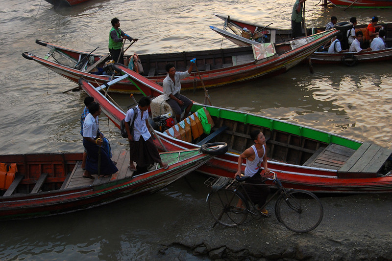 boat at the Myanmar River docks.jpg