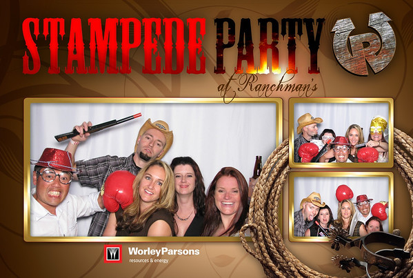 Worley Parsons Stampede Party 2013 Booth 2