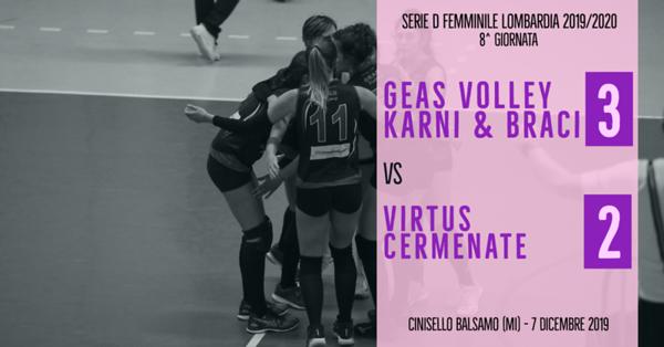 LOM-Df: 8^ Geas Volley - Virtus Cermenate