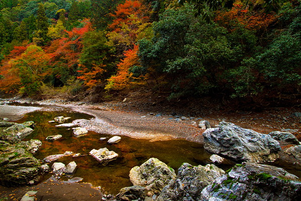 Takao-Kiyotaki Trail in Autumn