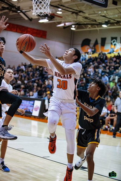 GHS vs Navajo Prep Boys Basketball 1-2-2020