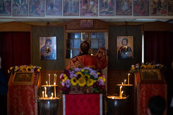 Vigil at Holy Apostles