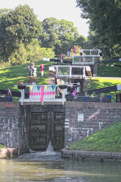 One Watford Staircase - one of the prettiest flights of locks.