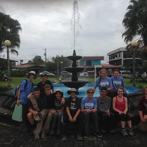 2016 PRM Middle School Costa Rica Program