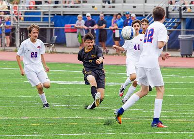 TJ Soccer 17 JV at CV
