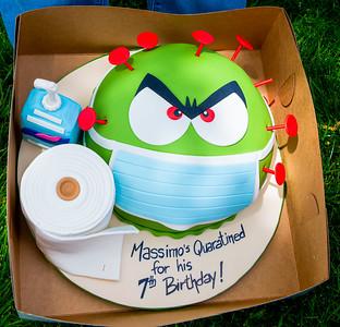 Massimo's 7th Birthday Party/Parade