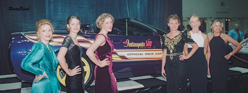 1998 Pace Car Unveiling