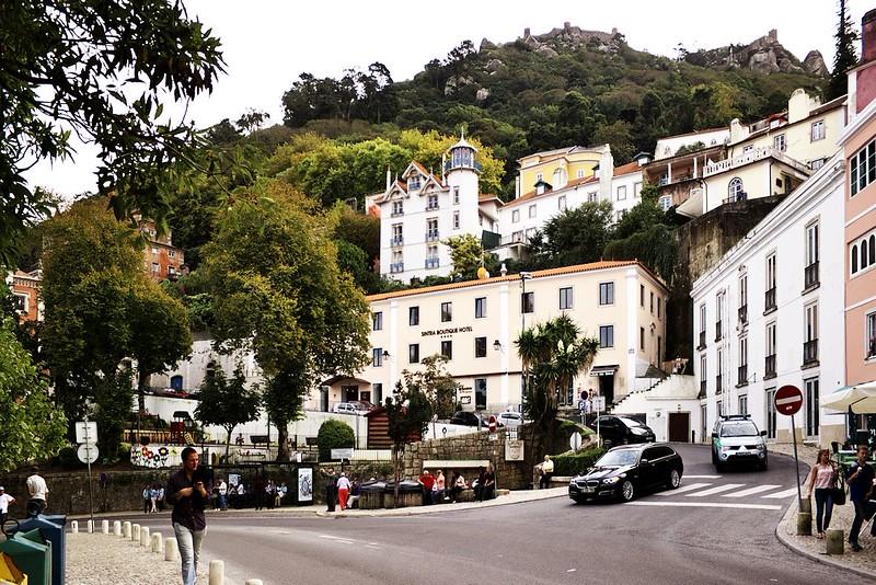 V centru historické Sintry