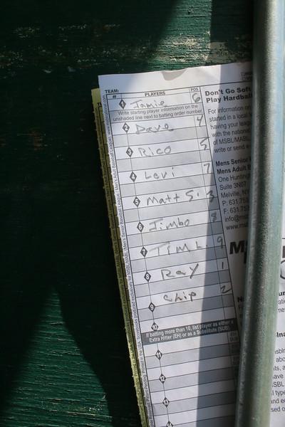 Vermont Senior Baseball Game