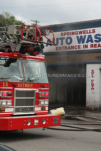 Springwells and Navy (Detroit, MI) 7/12/08