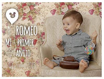Romeo mi  1º añito