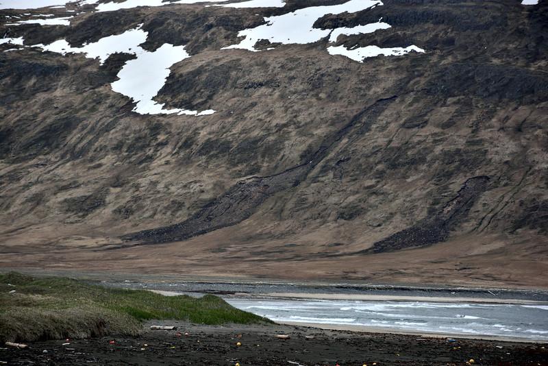 Aurskriður í Bolungarvík