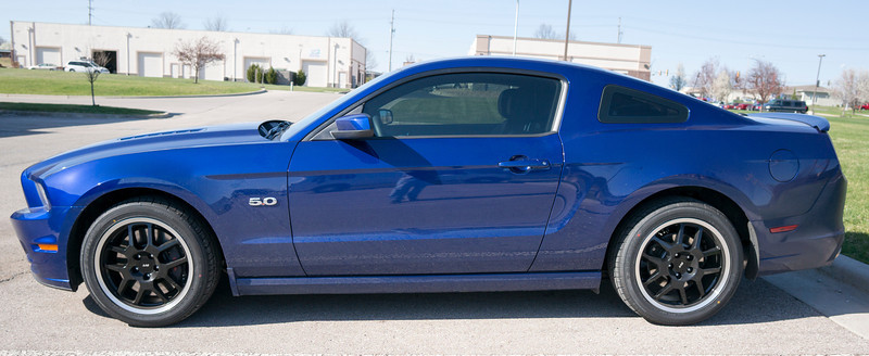 2010 Ford Mustang Tint
