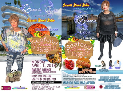 "QUEENIE CLASSIC ""BIRTHDAY / SEAFOOD GALORE 2019""(150)"