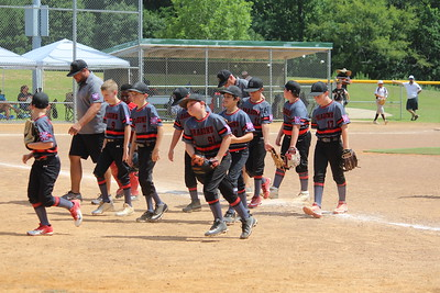 Shelbyville Dragons baseball tournament action from Monday, July 8