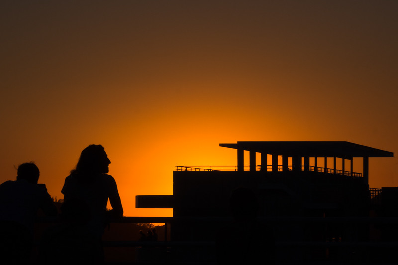 November 14 - End of the day at the Getty in Los Angeles.jpg
