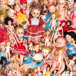 A Frame Full of Detail - A Portrait of Broken Dolls
