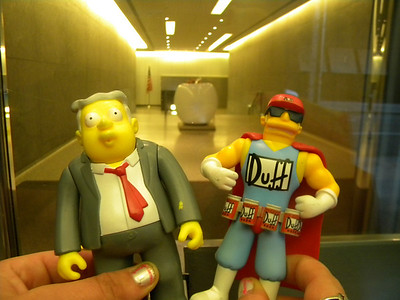 Larry and Duffman Go To New York
