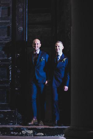 Tom and Patrick | Asylum Chapel, London