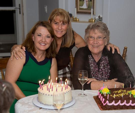 Dottie & Debbie's Birthdays December 2015
