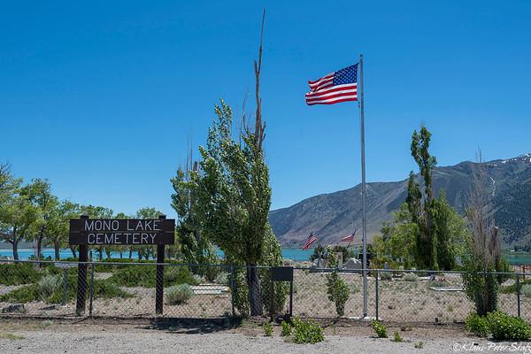 Mono Lake Cemetery 2019