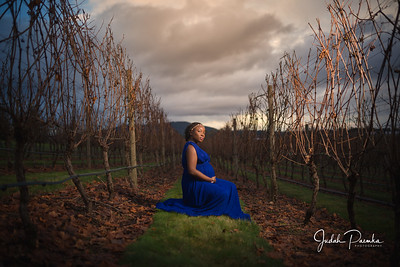 Maternity Shoot @ Church and State Wines Victoria BC | Tolu & Joe