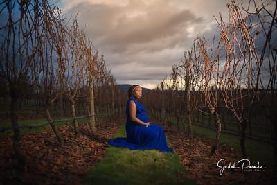 Maternity Shoot @ Church and State Wines Victoria BC | Tolu & Joe