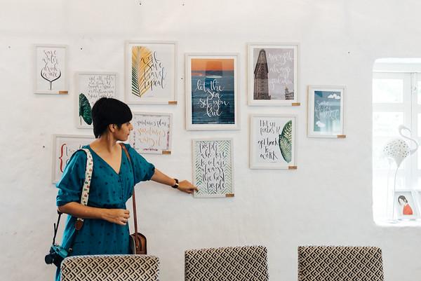 Ishita's Frames at Project Cafe