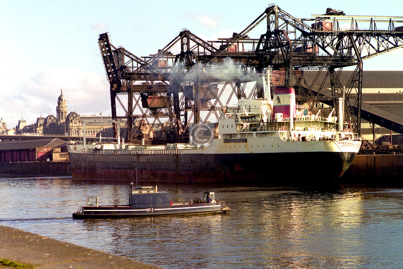 Six weeks before the axe fell. Google hasn't yielded much about the MV Victore lying at General Terminus Quay. There's an Indian container ship company which uses the name for some of its vessels.