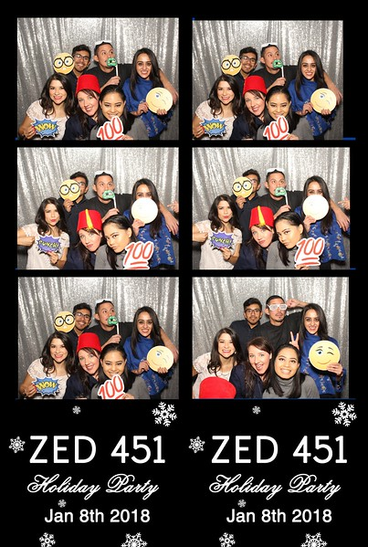 ZED451 Holiday Party (01/08/17)