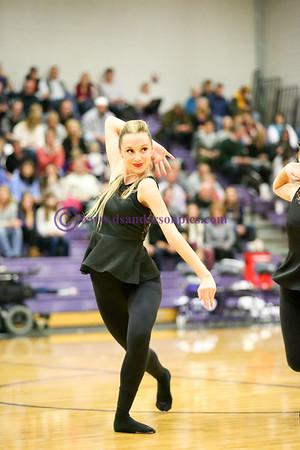 2016 01 08 RHS DANCE COMPANY HALFTIME ROUTINE