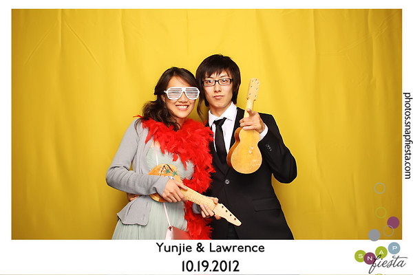 Yunjie & Lawrence @ Nestldown 10.19.12