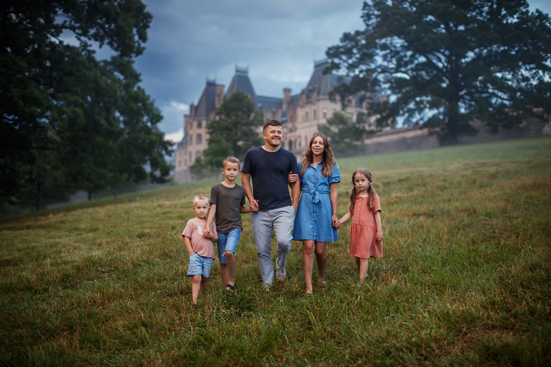 Pasha Family Portraits