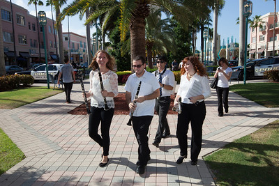 June 16th, 2013 Mizner Park Sunset Music Series with Symphony on Sundays FAU Old Time Concert in the Park