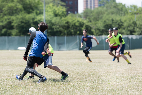 Ultimate Frisbee July 8 2017 - Red vs Blue