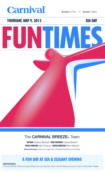 Breeze Fun Times 5/5/13-5/11/13