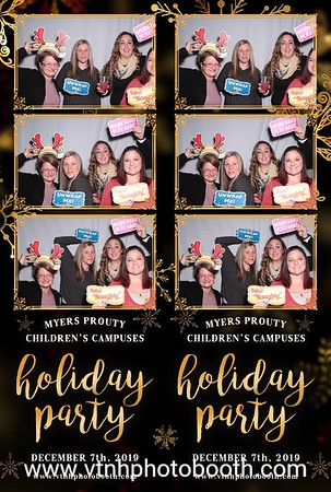 Photo Strips - 12/7/19 - Myers Prouty Children's Campuses Holiday Party