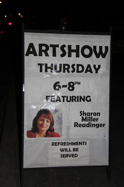 Art Show, Meet and Greet, Sharon Miller Readinger, TCAC, Tamaqua (1-24-2013)
