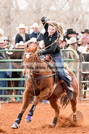 2018 Junior High Rodeo (Friday) - Girls Breakaway