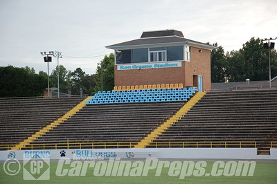 Burns High School - Ron Greene Stadium