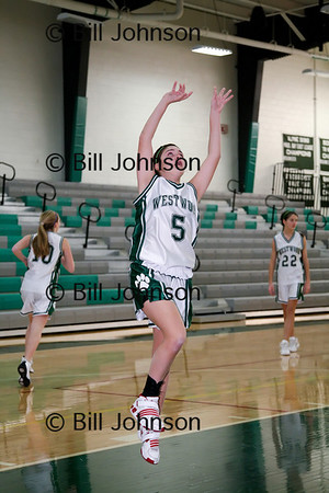 Girls Freshman Basketball Westwood v Holliston 12_17_10