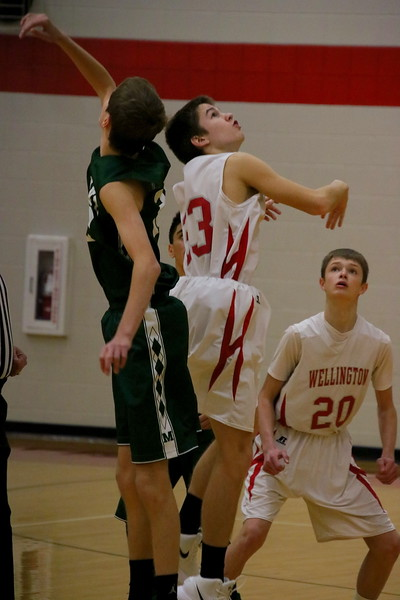 Boys Basketball vs Mulvane  010218