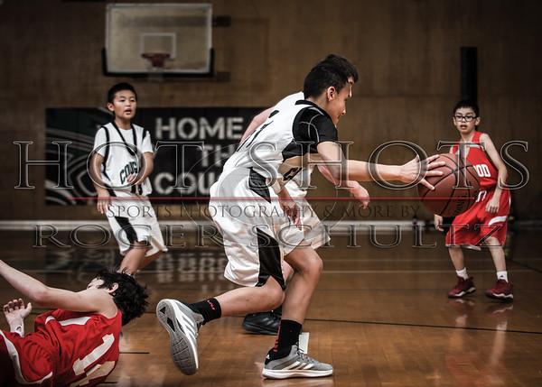 7th Grade Redwood White @ Crescent Elk C's 03-01-16